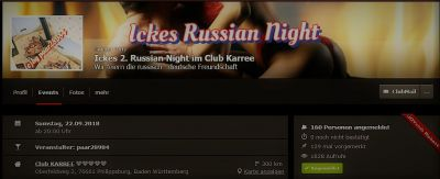 Ickes 2. Russian Night im Club Karree 22.09